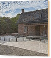 Old House At Bill Baggs Wood Print