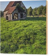 Old House In Summer  Wood Print