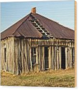 Old House Place Arkansas 2 Wood Print