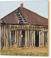 Old House Place Arkansas 3 Wood Print