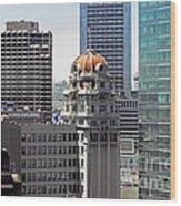 Old Humboldt Bank Building In San Francisco Wood Print