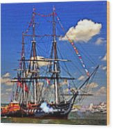 Old Ironsides 1012 Wood Print