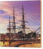 Old Ironsides 1015 Wood Print