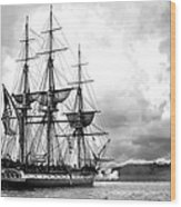 Old Ironsides Wood Print by Peter Chilelli