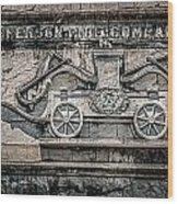 Old Jefferson Wood Print