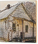 Old Kentucky Store Long Gone Wood Print
