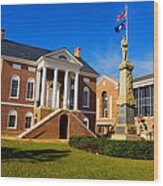 Old Lancaster County Court House Wood Print