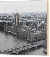 Old London .. New London Wood Print
