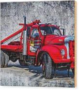 Old Mack Truck Wood Print