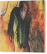 Old Man In Morocco Wood Print