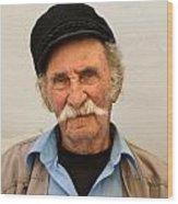 Old Man Of Mykonos Wood Print