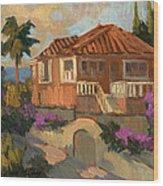 Old Mansion Costa Del Sol Wood Print
