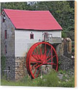 Old Mill Of Guilford Wood Print by Sandi OReilly
