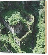 Old Mill Of Sorrento Wood Print