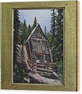 Old Mine Wood Print