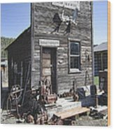 Old Molson Ghost Town Assay Office Wood Print