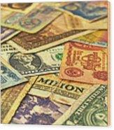 Old Money Wood Print