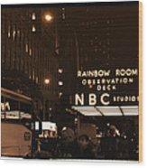 Old New York Wood Print
