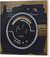 Old Nikon Wood Print