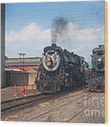 Old Number 3254 Under Steam Wood Print