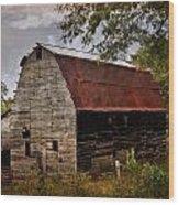 Old Oak Barn Wood Print by Marty Koch