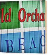 Old Orchard Beach Wood Print