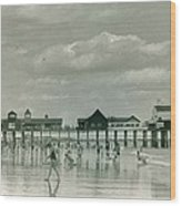 Old Orchard Beach Maine Wood Print