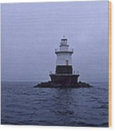 Old Orchard Lighthouse Wood Print