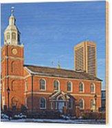 Old Otterbein United Methodist Church Wood Print