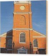 Old Otterbein United Methodist Church Entry Wood Print