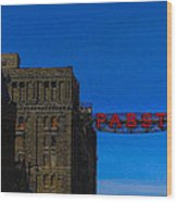 Old Pabst Brewery Wood Print
