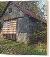 Old Patriot Wood Print
