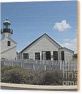 Old Point Loma Lighthouse 1 Wood Print
