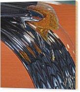 'old Pontiac Indian Chief Wood Print