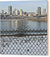 Old Port Of Montreal Wood Print