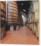 Old Porto Wine Cellar Wood Print