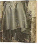 Old Portrait Wood Print