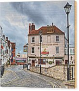 Old Portsmouth Wood Print