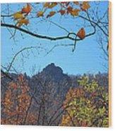 Old Rag Hiking Trail - 121213 Wood Print