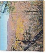 Old Rag Hiking Trail - 121215 Wood Print