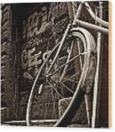 Old Ride Wood Print