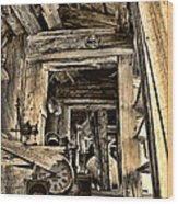 Old Rockers Attic Wood Print