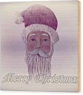 Old Saint Nicholas Greeting Card Wood Print