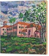 Old School at Delray 2015 Wood Print