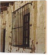 Old Spanish Mission Wood Print