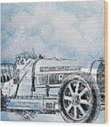 Old Sport Car Wood Print