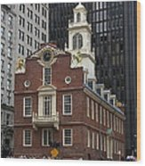 Old State House - Boston Wood Print