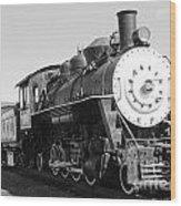 Old Steam Engine Wood Print