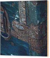 Old Steamer Trunk Wood Print