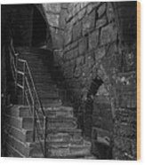 Old Steps In Chester England Wood Print